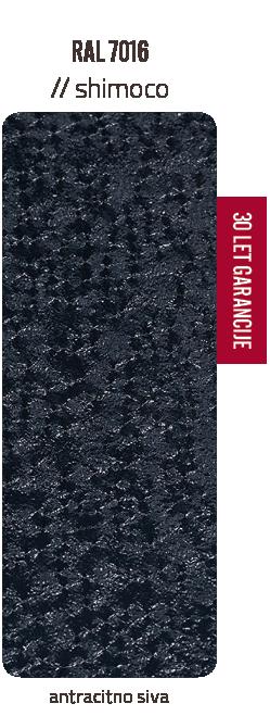 Premazni sistem SHIMOCO   30 let garancije   Barve - antracitno siva