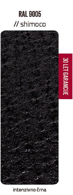 Premazni sistem SHIMOCO   30 let garancije   Barve - intenzivno črna