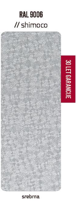Premazni sistem SHIMOCO   30 let garancije   Barve - srebrna