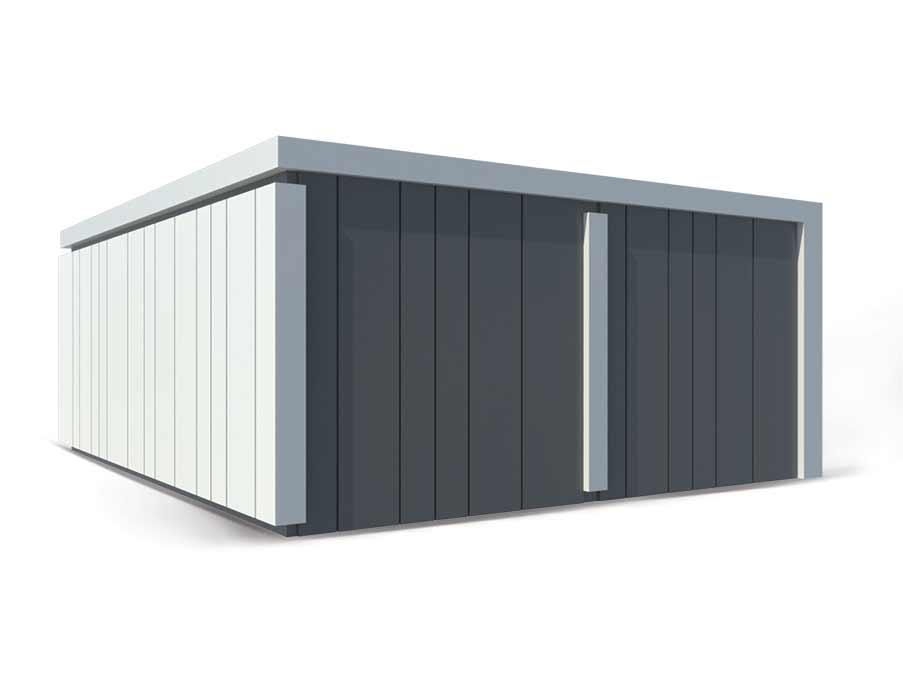 Premium dvojna garaža – Konstrukcije Petrovič