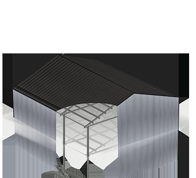 Montažne jeklene konstrukcije Petrovič – neizoliran objekt