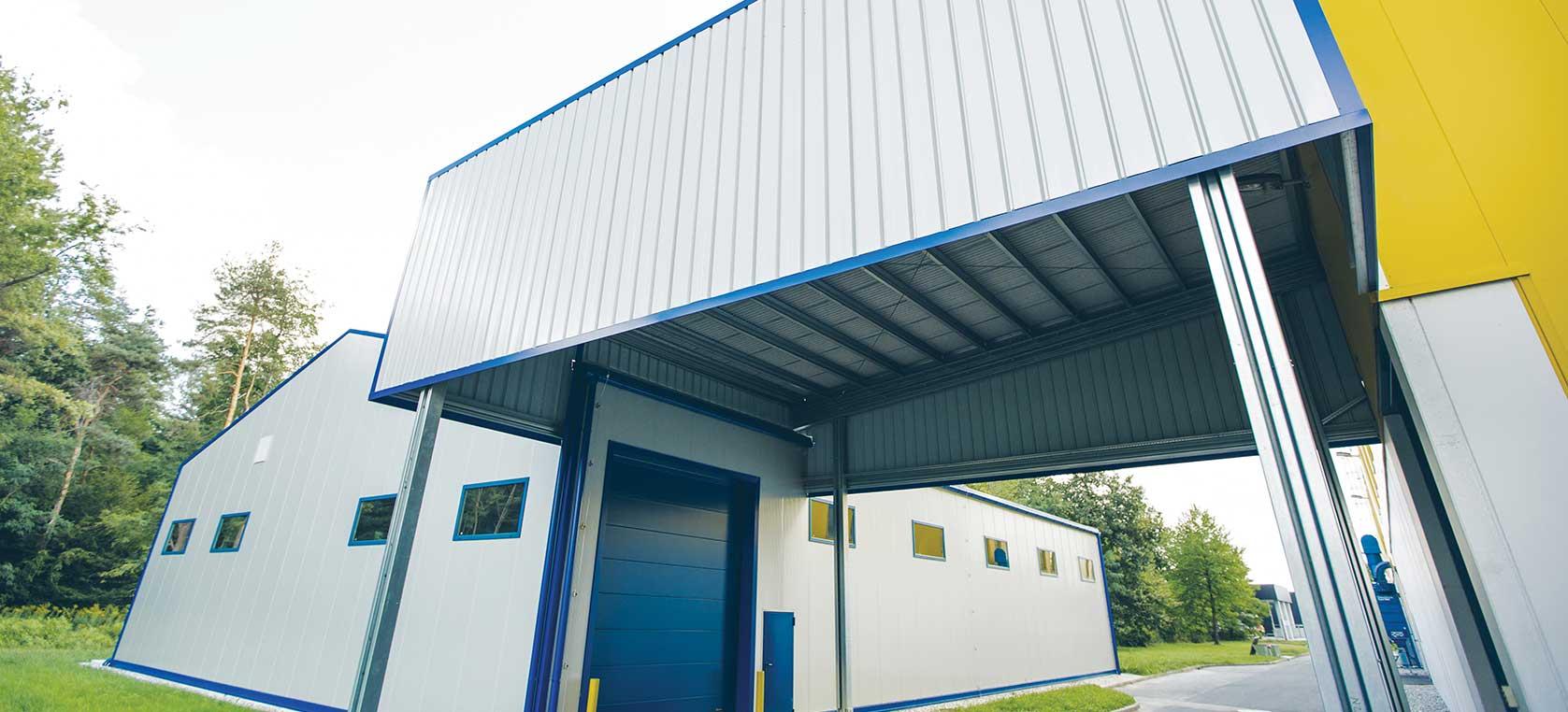 Jeklene (kovinske) konstrukcije Petrovič za poslovne prostore in skladiščne hale