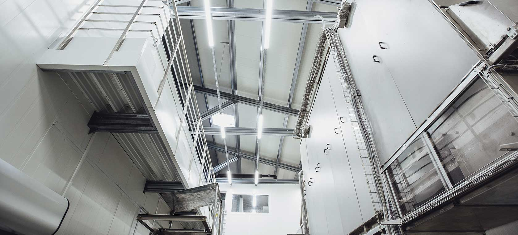 Jeklene (kovinske) konstrukcije Petrovič za proizvodne prostore in industrijske obrate
